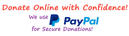 donate online with the security of paypal